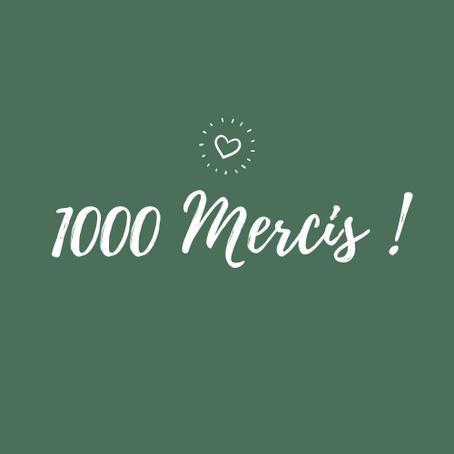1000 mercis !