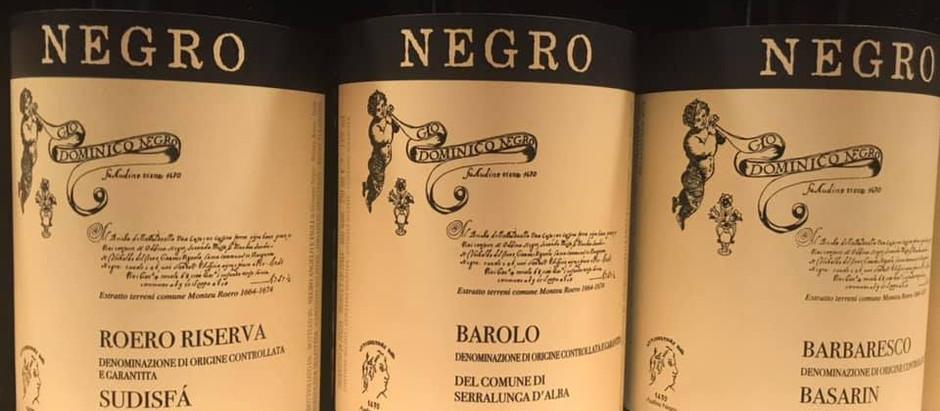 ワイン生産者来日記念ディナー Vol.1【NEGRO】
