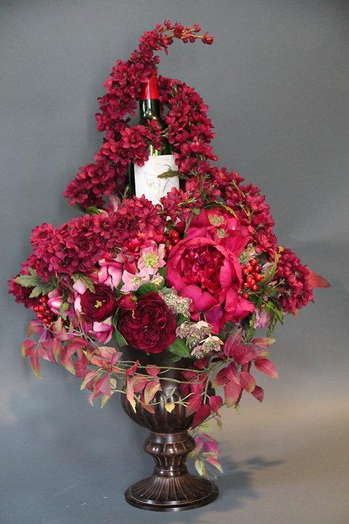 🌹特別なワインを素敵な花とともに🌹 【お客様のお好みで♪完全オーダーメイドプラン】