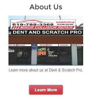 Car Dent Repair San Diego