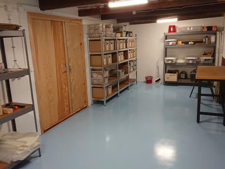 Nya lokaler för fröhantering