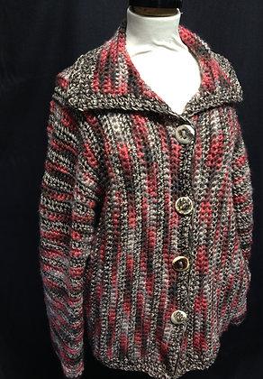 Multi-coloured Slouch Coat