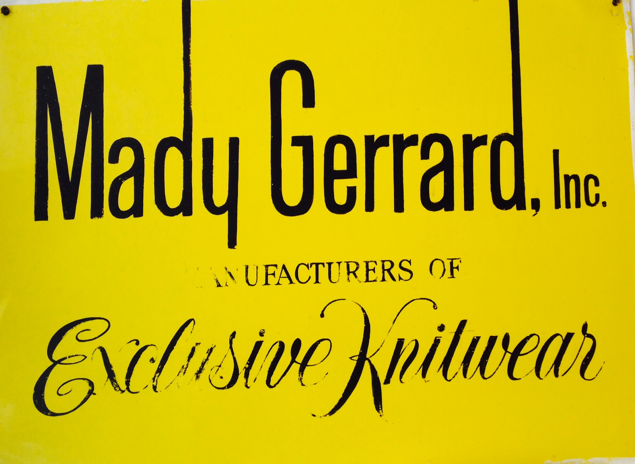 Mady Gerrard Fashion