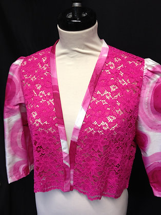 Silk and Lace Jacket