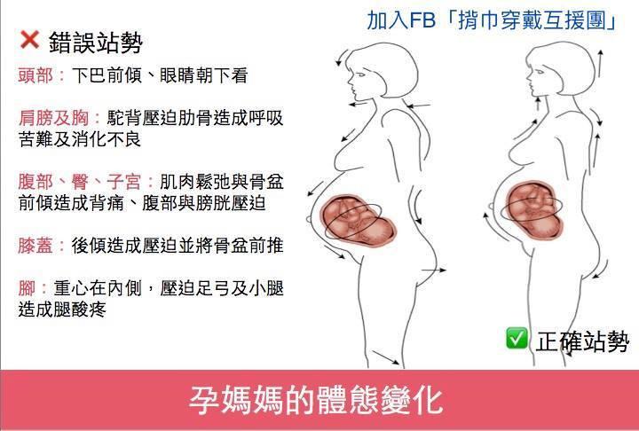 偉大的媽媽們辛苦了,懷孕對母體的改變真的非常大!