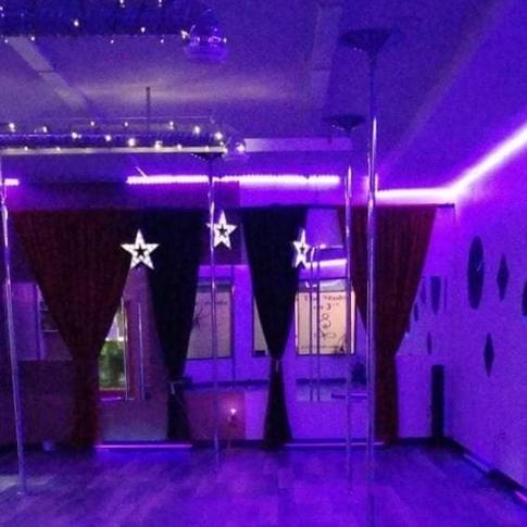 Black light glow party