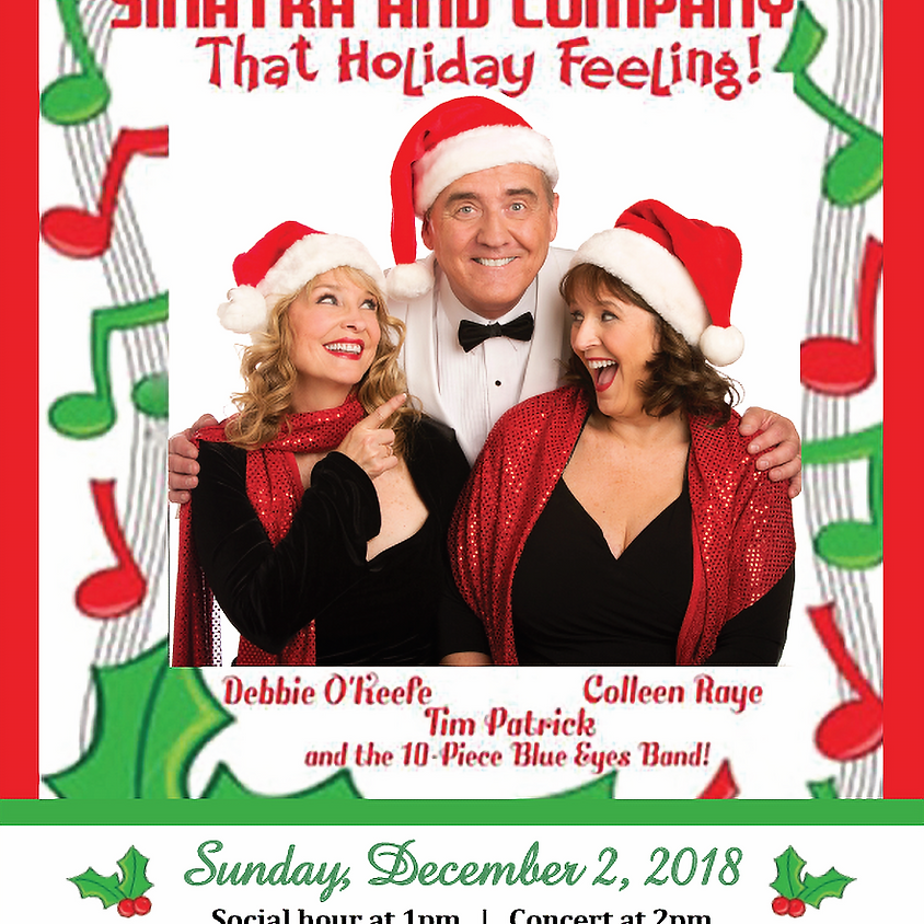 Holiday Concert | Social hour at 1pm, Concert at 2pm
