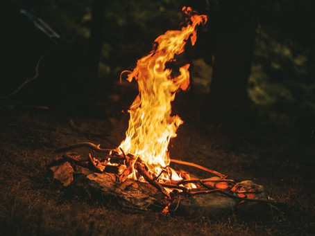 The Air and the Flame: Honoring Grief as Pagans