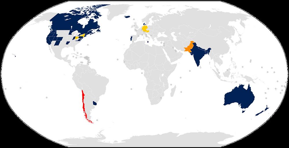 Sourced from Wikipedia: https://commons.m.wikimedia.org/wiki/File:World_map_nonbinary_gender_recognition.svg?fbclid=IwAR38uqJFcNHRDrSo47LZQk-hLdbVFohEJUQNUx8MaQ4YVpppOM8HvzWIX8w#mw-jump-to-license
