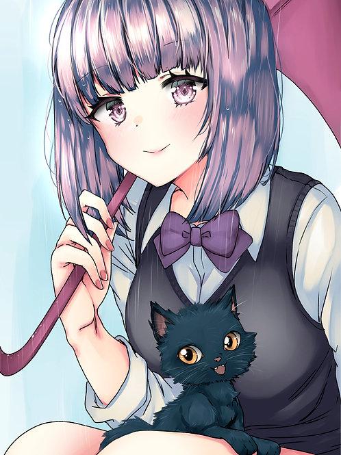 Poster A3 Kuroneko