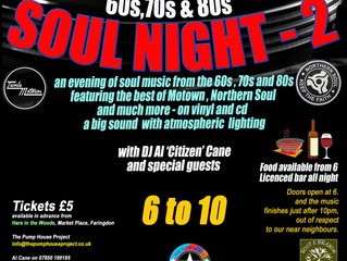 BIG SOUL NIGHT Fundraiser