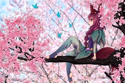 Sakura's Forest A3 Poster