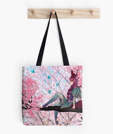 Sakura Forest totebag