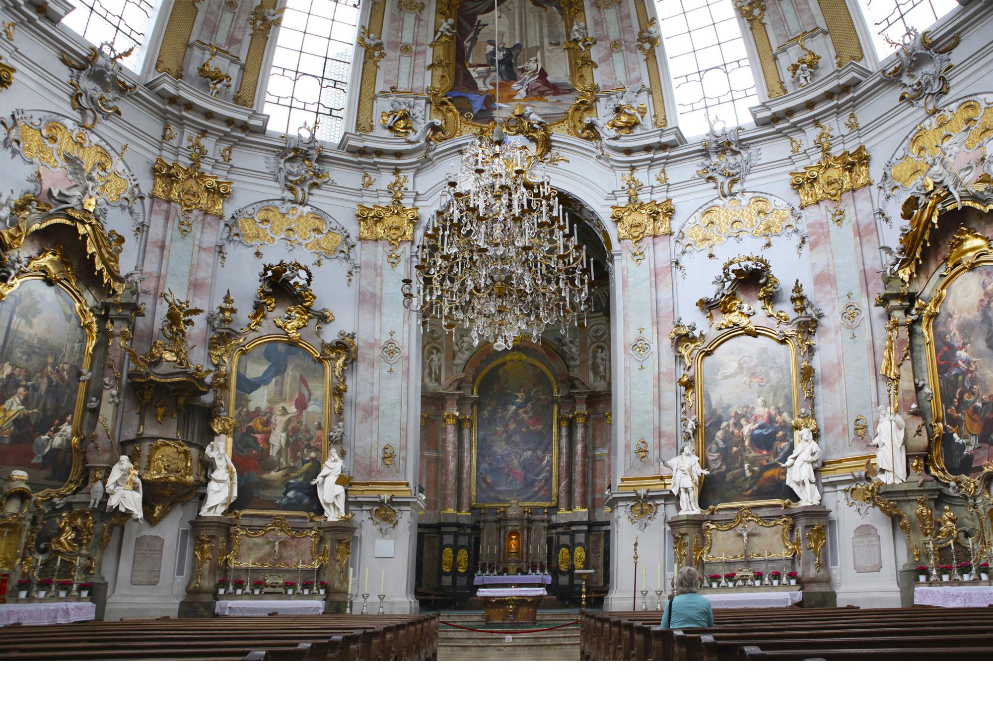 에탈 수도원 성당의 제대