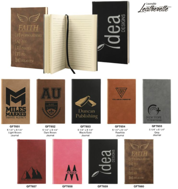 leather note pads