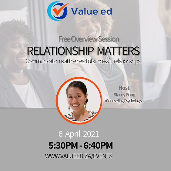 Relationship Matters Overview