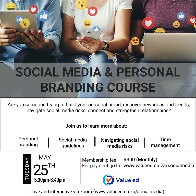 Social Media and Personal Branding Course