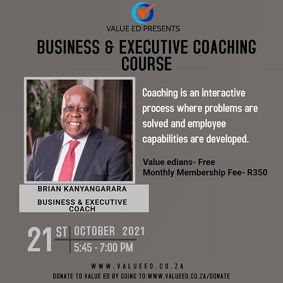 Business & Executive Coaching Course