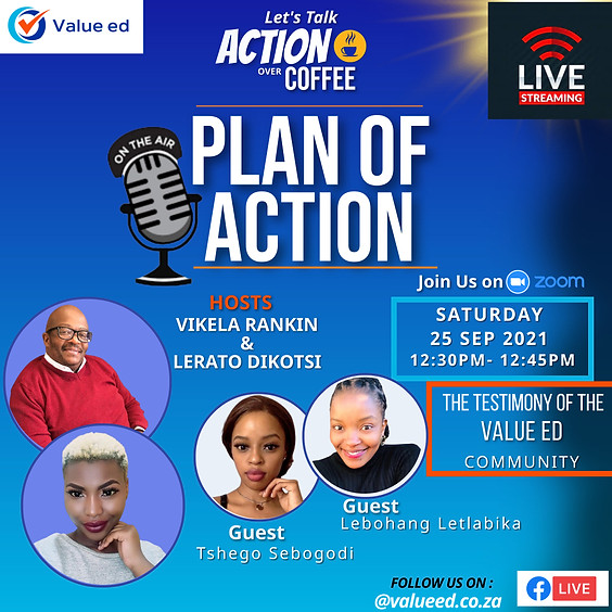 PLAN OF ACTION SHOW