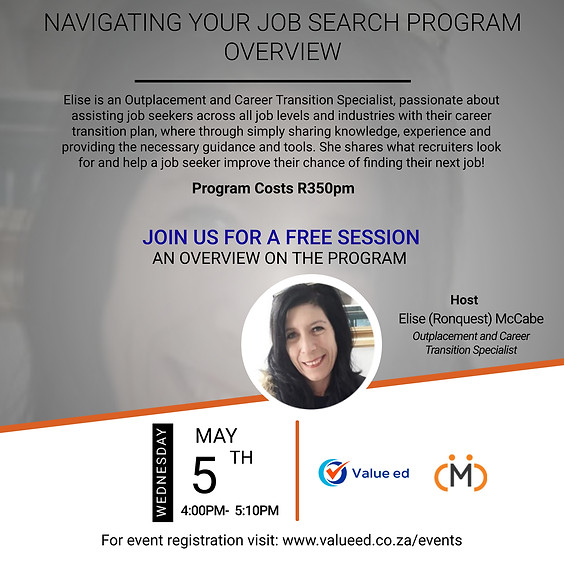 Navigating your Job Search Overview