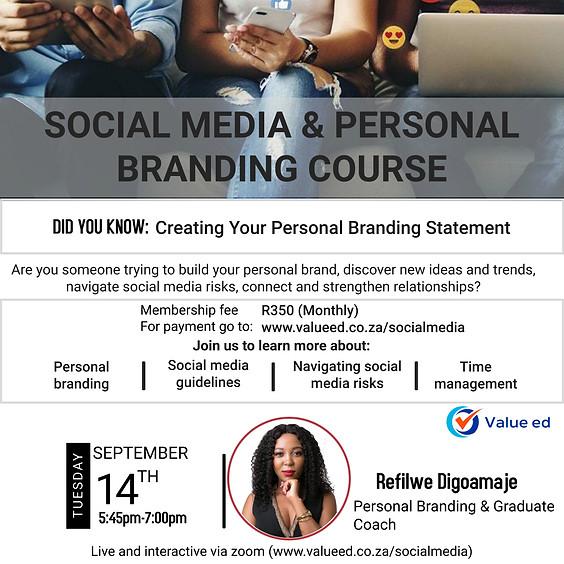 Social Media & Personal Branding Course