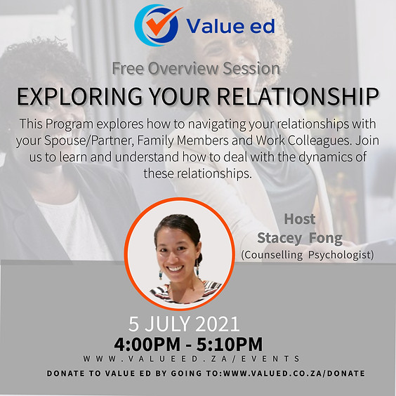 Exploring Your Relationships Overview