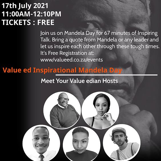 Value ed Inspirational Mandela Day