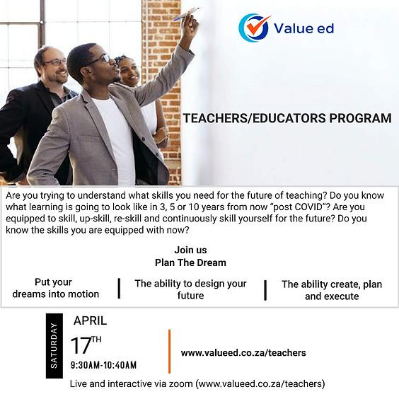 Teachers/Educators Program