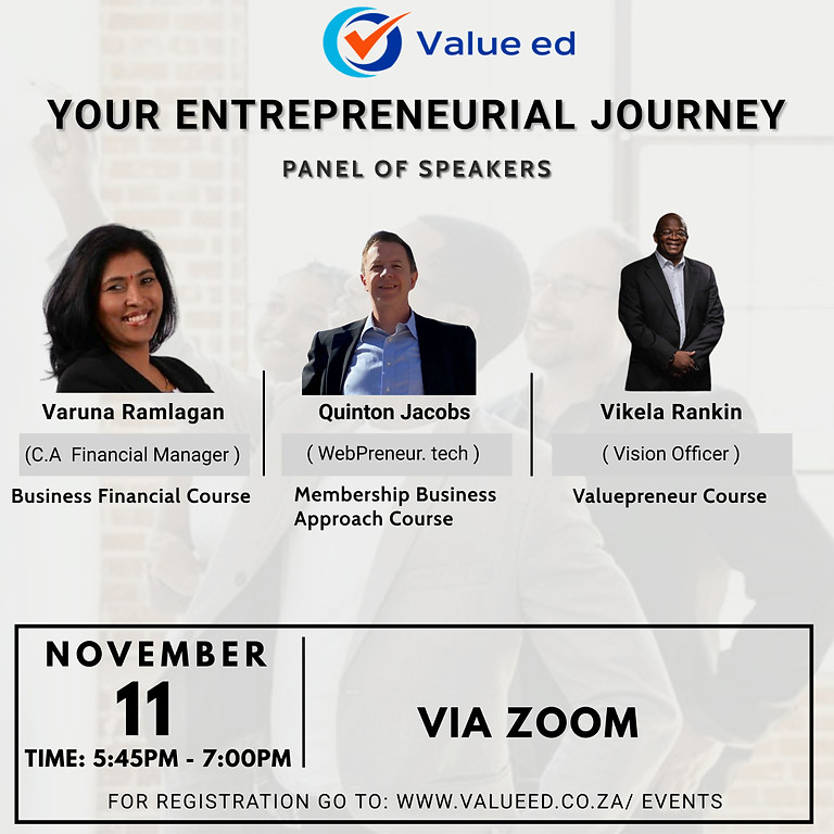 Your Entrepreneurial Journey