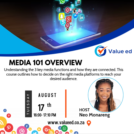 Media 101 Overview