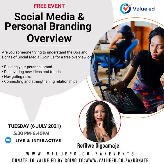 Social Media and Personal Branding Overview