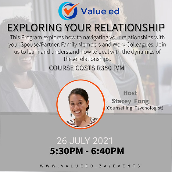 Exploring Your Relationships Course