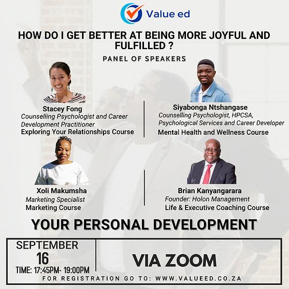 Personal Development Overview