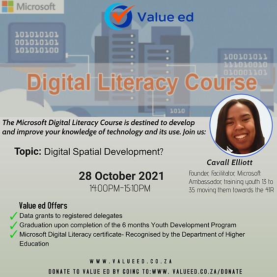 Digital Literacy Course
