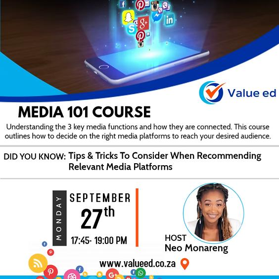 Media 101 Course