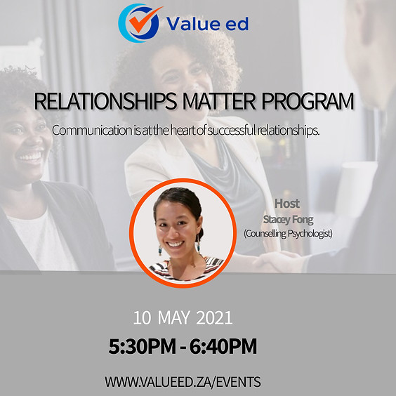 Relationships Matter Course