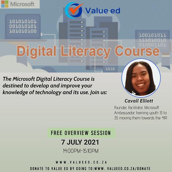 Digital Literacy Overview