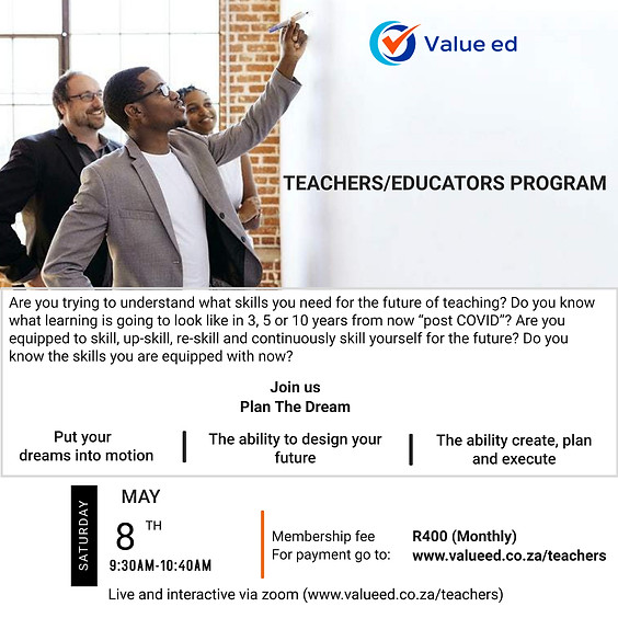 Teachers & Educators Course