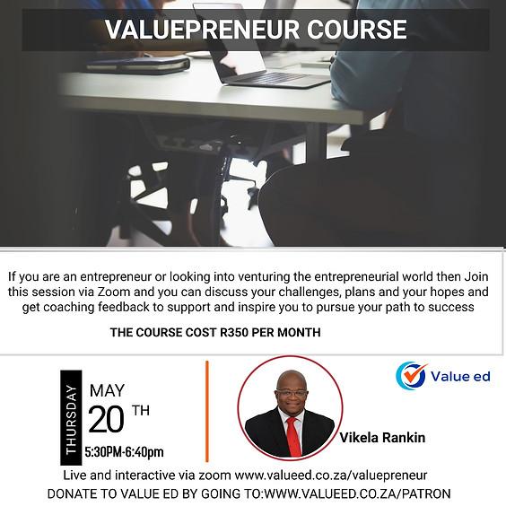 Valuepreneur Coaching