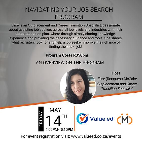 Navigating Your Job Search Program