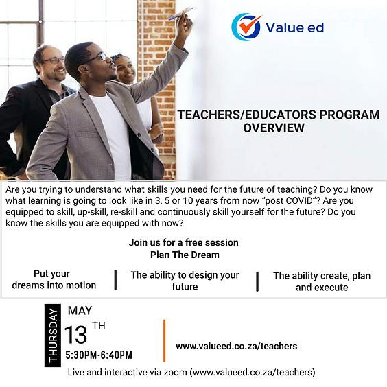 Teachers/Educators Overview