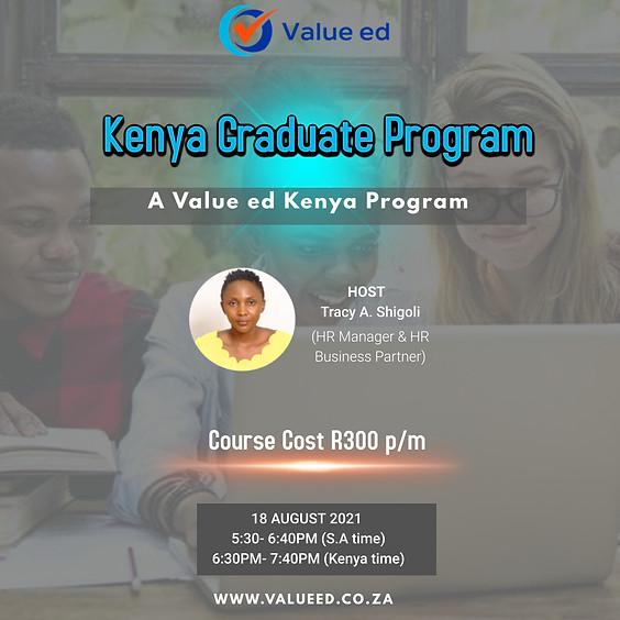 Kenya Graduate Program