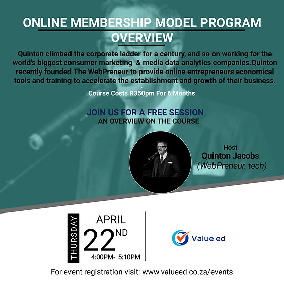 Online Membership Model Overview