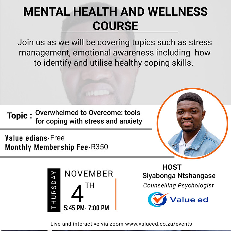 Mental Health and Wellness Course