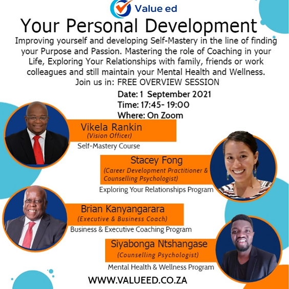 Your Personal Development Overview