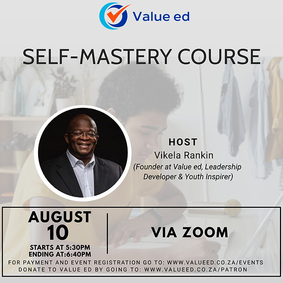Self-Mastery Course