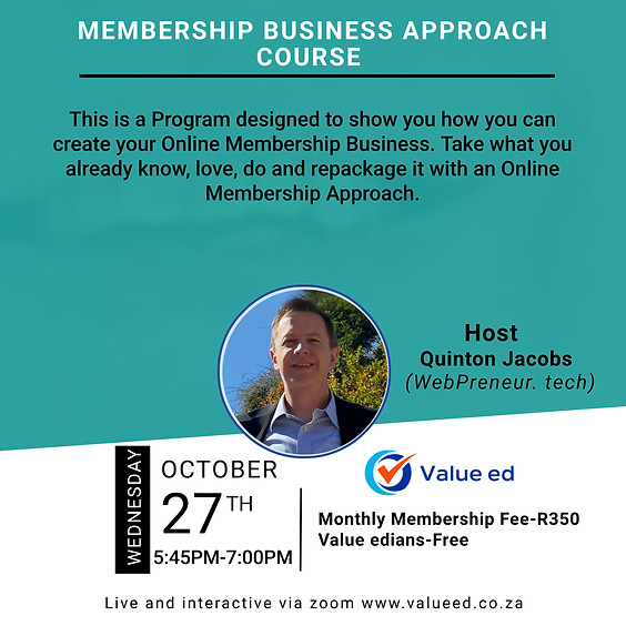 Membership Business Approach Course