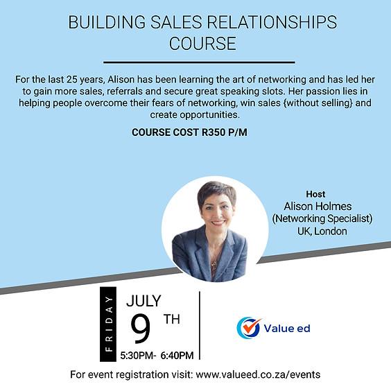 Building Sales Relationships Program