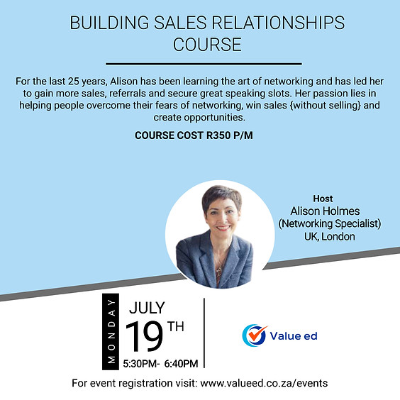 Building Sales Relationships Course