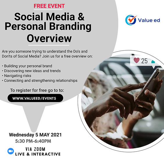 Social Media & Personal Branding Overview